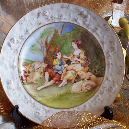 Le porcellane di elena piatti decorativi - Piatti decorativi ...